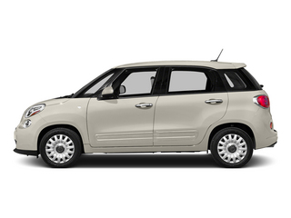 Bianco (White) 2015 FIAT 500L Pictures 500L Hatchback 5D L Easy I4 Turbo photos side view