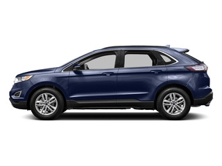 Deep Impact Blue Metallic 2015 Ford Edge Pictures Edge Utility 4D SE AWD I4 Turbo photos side view