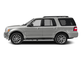 White Platinum Metallic Tri-Coat 2015 Ford Expedition Pictures Expedition Utility 4D XLT 4WD photos side view