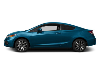 Dyno Blue Pearl 2015 Honda Civic Coupe Pictures Civic Coupe 2D EX-L I4 photos side view