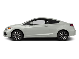 Taffeta White 2015 Honda Civic Coupe Pictures Civic Coupe 2D EX-L I4 photos side view