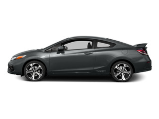 Modern Steel Metallic 2015 Honda Civic Coupe Pictures Civic Coupe 2D Si I4 photos side view