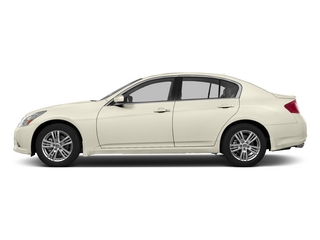 Moonlight White 2015 INFINITI Q40 Pictures Q40 Sedan 4D AWD V6 photos side view