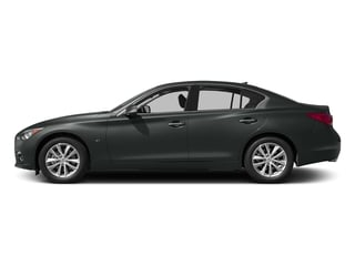Graphite Shadow 2015 INFINITI Q50 Pictures Q50 Sedan 4D Sport AWD V6 photos side view