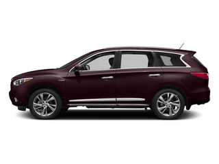 Midnight Garnet 2015 INFINITI QX60 Pictures QX60 Utility 4D Hybrid AWD I4 photos side view