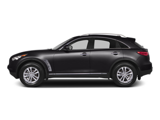 Malbec Black 2015 INFINITI QX70 Pictures QX70 Utility 4D 2WD V6 photos side view