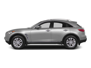 Liquid Platinum 2015 INFINITI QX70 Pictures QX70 Utility 4D 2WD V6 photos side view