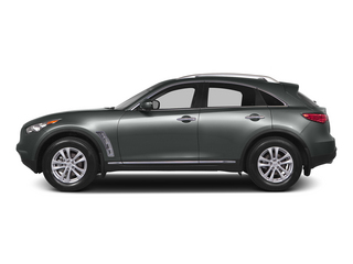 Graphite Shadow 2015 INFINITI QX70 Pictures QX70 Utility 4D AWD V6 photos side view