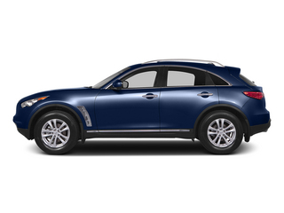 Iridium Blue 2015 INFINITI QX70 Pictures QX70 Utility 4D 2WD V6 photos side view