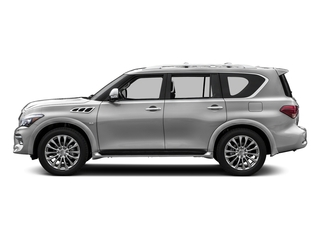 Liquid Platinum 2015 INFINITI QX80 Pictures QX80 Utility 4D AWD V8 photos side view