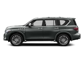 Graphite Shadow 2015 INFINITI QX80 Pictures QX80 Utility 4D AWD V8 photos side view
