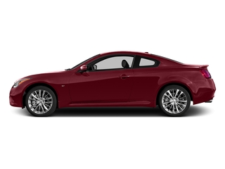 Venetian Ruby 2015 INFINITI Q60 Coupe Pictures Q60 Coupe 2D Sport V6 photos side view