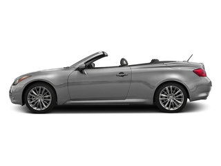 Liquid Platinum 2015 INFINITI Q60 Convertible Pictures Q60 Convertible Convertible 2D Sport V6 photos side view