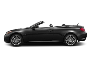 Black Obsidian 2015 INFINITI Q60 Convertible Pictures Q60 Convertible Convertible 2D Sport V6 photos side view