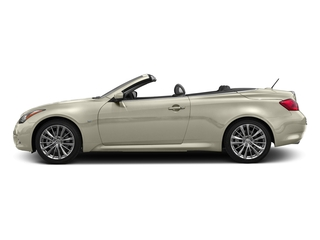 Majestic White 2015 INFINITI Q60 Convertible Pictures Q60 Convertible Convertible 2D Sport V6 photos side view