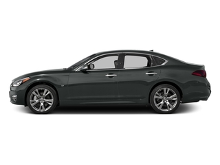 Graphite Shadow 2015 INFINITI Q70 Pictures Q70 Sedan 4D V6 photos side view