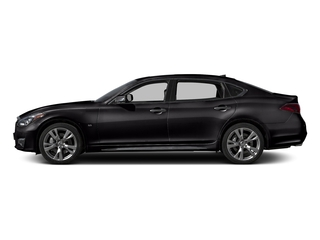 Malbec Black 2015 INFINITI Q70L Pictures Q70L Sedan 4D LWB AWD V8 photos side view