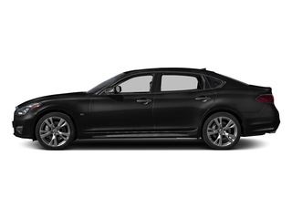 Black Obsidian 2015 INFINITI Q70L Pictures Q70L Sedan 4D LWB AWD V8 photos side view