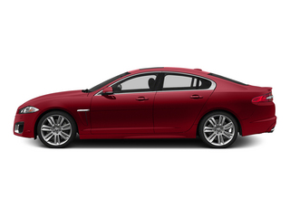 Italian Racing Red 2015 Jaguar XF Pictures XF Sedan 4D XFR V8 Supercharged Speed photos side view