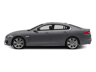 Lunar Gray Metallic 2015 Jaguar XF Pictures XF Sedan 4D XFR V8 Supercharged photos side view