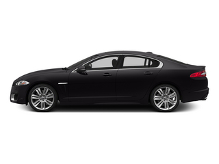 Ultimate Black Metallic 2015 Jaguar XF Pictures XF Sedan 4D XFR V8 Supercharged photos side view