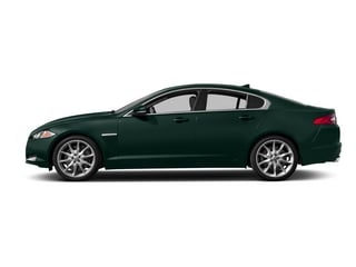 British Racing Green 2015 Jaguar XF Pictures XF Sed 4D Portfolio AWD V6 Supercharged photos side view