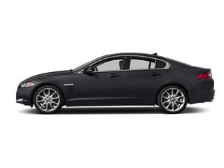 Stratus Gray Metallic 2015 Jaguar XF Pictures XF Sed 4D Portfolio AWD V6 Supercharged photos side view