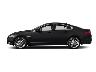 Ebony 2015 Jaguar XF Pictures XF Sed 4D Portfolio AWD V6 Supercharged photos side view