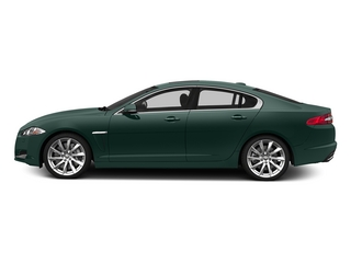 British Racing Green 2015 Jaguar XF Pictures XF Sedan 4D V8 Supercharged photos side view