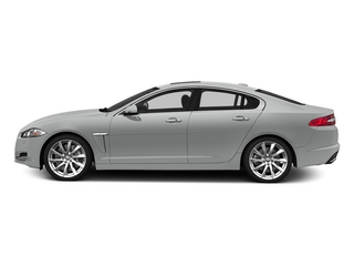 Rhodium Silver Metallic 2015 Jaguar XF Pictures XF Sedan 4D V8 Supercharged photos side view