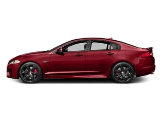 Italian Racing Red 2015 Jaguar XF Pictures XF Sedan 4D XFR-S V8 Supercharged photos side view