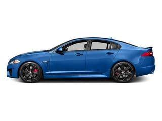 Ultra Blue 2015 Jaguar XF Pictures XF Sedan 4D XFR-S V8 Supercharged photos side view