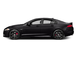 Ultimate Black Metallic 2015 Jaguar XF Pictures XF Sedan 4D XFR-S V8 Supercharged photos side view