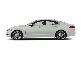 Polaris White 2015 Jaguar XF Pictures XF Sedan 4D Sport V6 Supercharged photos side view