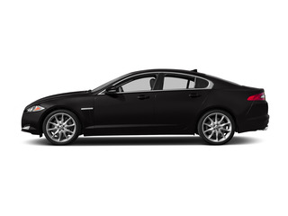 Ultimate Black Metallic 2015 Jaguar XF Pictures XF Sedan 4D Sport V6 Supercharged photos side view