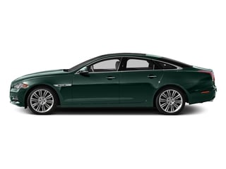 British Racing Green 2015 Jaguar XJ Pictures XJ Sedan 4D V6 photos side view