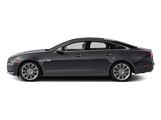 Lunar Gray Metallic 2015 Jaguar XJ Pictures XJ Sedan 4D V6 photos side view