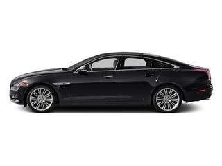 Ebony 2015 Jaguar XJ Pictures XJ Sedan 4D V6 photos side view