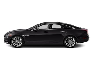 Ultimate Black Metallic 2015 Jaguar XJ Pictures XJ Sedan 4D V6 photos side view