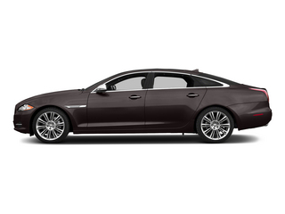 Caviar Metallic 2015 Jaguar XJ Pictures XJ Sedan 4D Supercharged Speed V8 photos side view