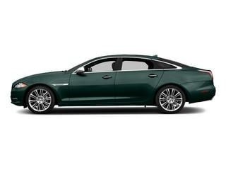 British Racing Green 2015 Jaguar XJ Pictures XJ Sedan 4D L V8 Supercharged photos side view