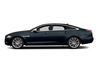 Dark Sapphire Metallic 2015 Jaguar XJ Pictures XJ Sedan 4D Supercharged Speed V8 photos side view