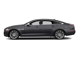 Stratus Gray Metallic 2015 Jaguar XJ Pictures XJ Sedan 4D Supercharged Speed V8 photos side view