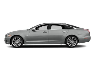 Rhodium Silver Metallic 2015 Jaguar XJ Pictures XJ Sedan 4D Supercharged Speed V8 photos side view