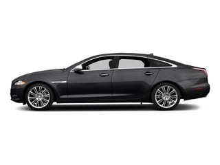 Ebony 2015 Jaguar XJ Pictures XJ Sedan 4D Supercharged Speed V8 photos side view