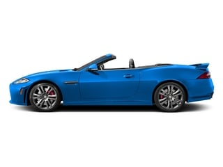 French Racing Blue 2015 Jaguar XK Pictures XK Convertible 2D XKR-S V8 Supercharged photos side view