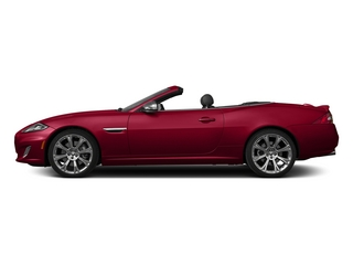 Carnelian Red Metallic 2015 Jaguar XK Pictures XK Convertible 2D XKR V8 Supercharged photos side view