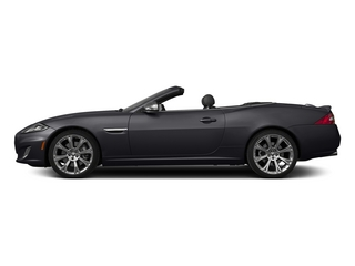 Stratus Gray Metallic 2015 Jaguar XK Pictures XK Convertible 2D XKR V8 Supercharged photos side view