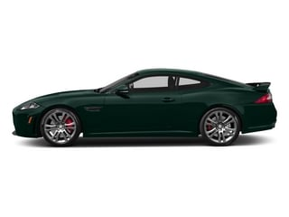 British Racing Green 2015 Jaguar XK Pictures XK Coupe 2D XKR-S V8 Supercharged photos side view