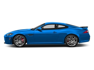 French Racing Blue 2015 Jaguar XK Pictures XK Coupe 2D XKR-S V8 Supercharged photos side view